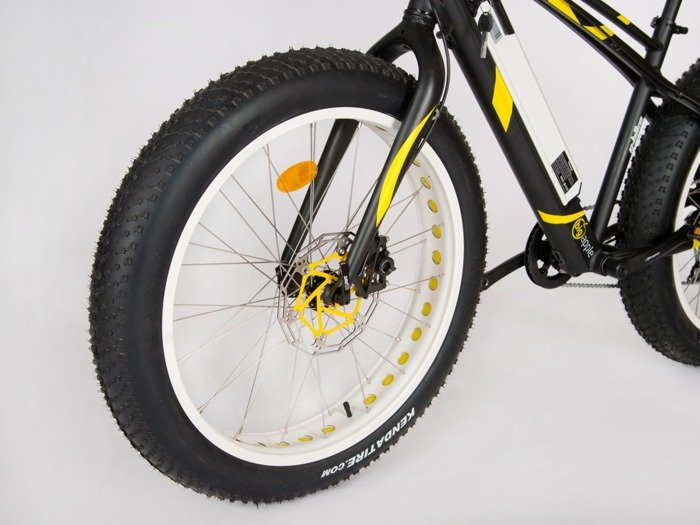 G-BIKE Big Apple - elektrokolo MTB fat bike